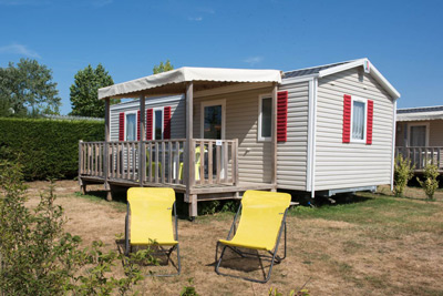 mobil-home îlot camping cabestan